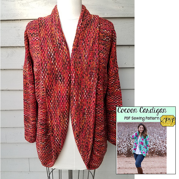 6330bc400c02 ... or as a short bolero style jacket using medium weight sweater knits.  Bring your own fabric and pattern
