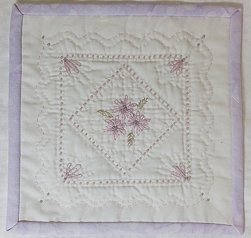 Beyond The Tradition Beadwork Embroidery And Hand Quilting Byof